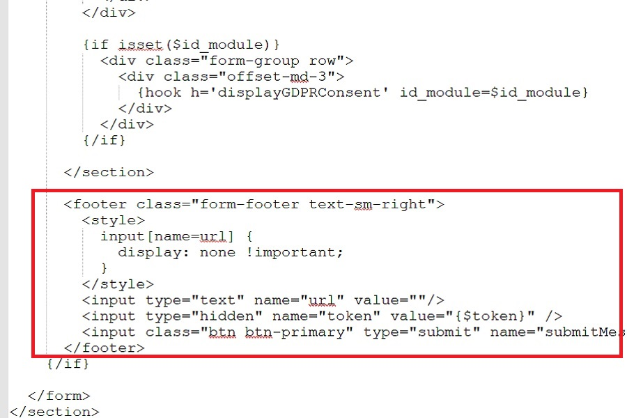 """Corrección Plantilla Prestashop 1.7 No Envia """"an Error Occurred While Sending The Message, Please Try Again."""""""